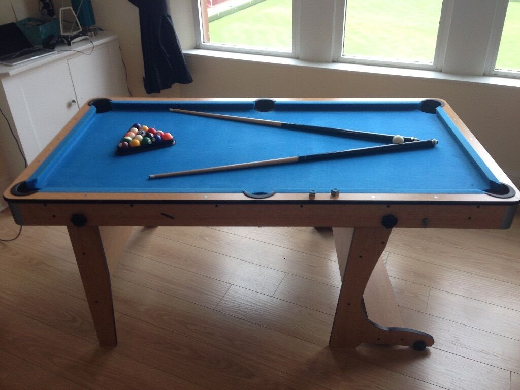 Ft Pooltable Tabletennis Or HUGE Office Desk Folds Away - Huge pool table
