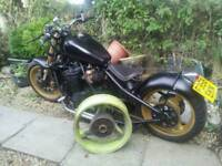 Suzuki gsxr rear wheel chopper street fighter