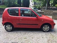 2003 Fiat Seicento very low 28,000 miles