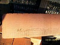 bricks red new unused 'Accrington reds'