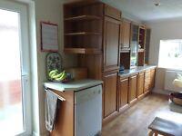 Kitchen wall and base units