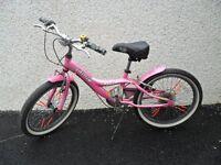 "girl's 20"" bike - jamis capri - light weight, high spec bicycle"