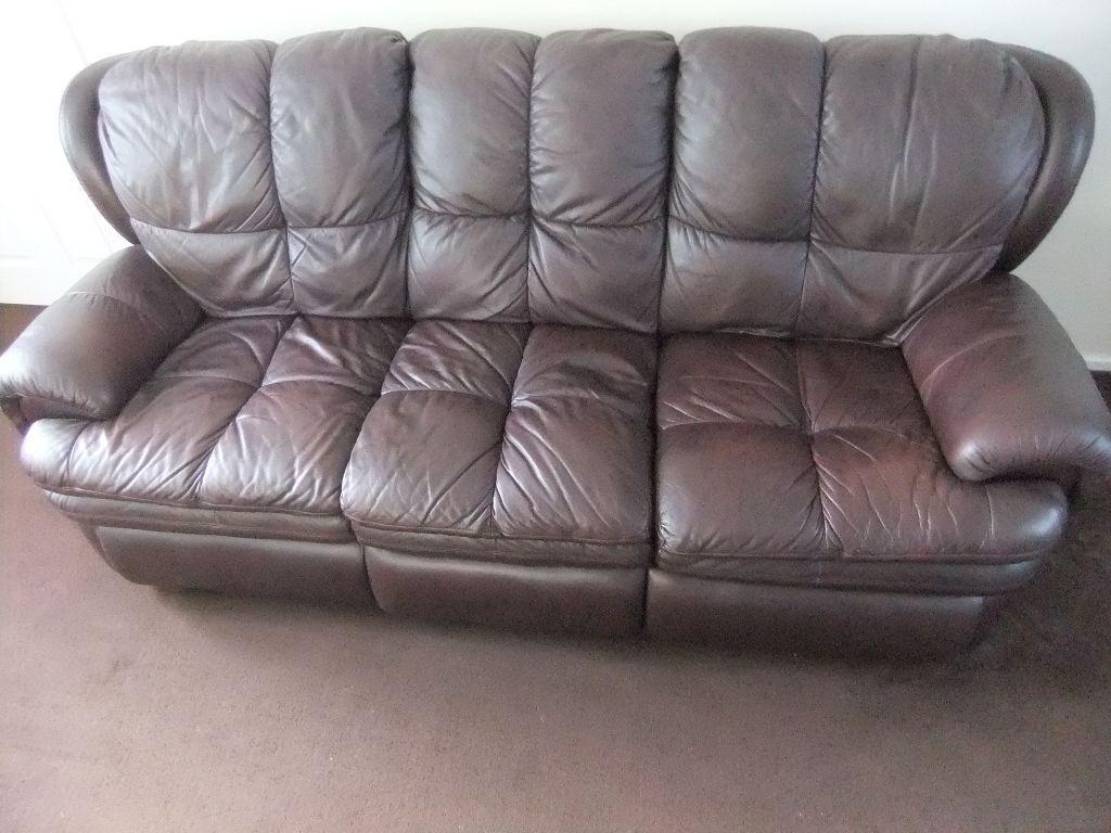 3 seater sofa plus matching 2 seater sofa electric ...
