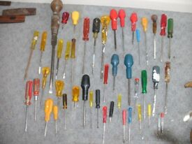 ASSORTED SCREW DRIVERS