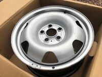 "Genuine 17"" VW Transporter T6 Steel Wheel Single Spare Great Condition Complete Sets Available"