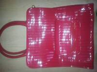Red large ted baker bag
