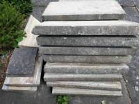 Weathered/reclaimed Coping Stones