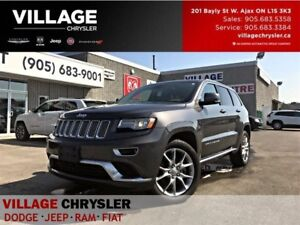 2016 Jeep Grand Cherokee SummitV8|Nav|DVDs|Panoroof|Tow|Remote