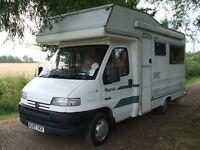camper /motor home peugeot boxer turbo deisel 1998 wayfinder. built by autohomes