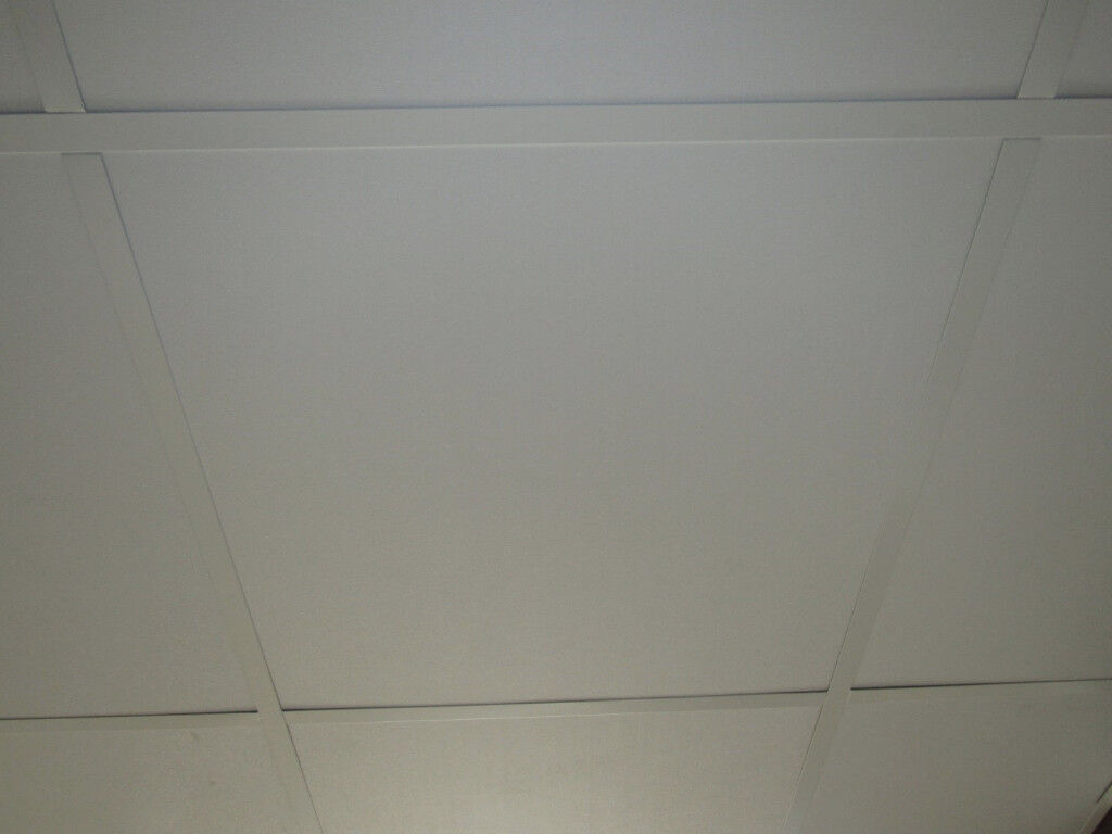 New suspended ceiling tiles waterproof plasterboard 600mmx600mm 8 new suspended ceiling tiles waterproof plasterboard 600mmx600mm 8 tiles per box image 1 of 6 dailygadgetfo Image collections