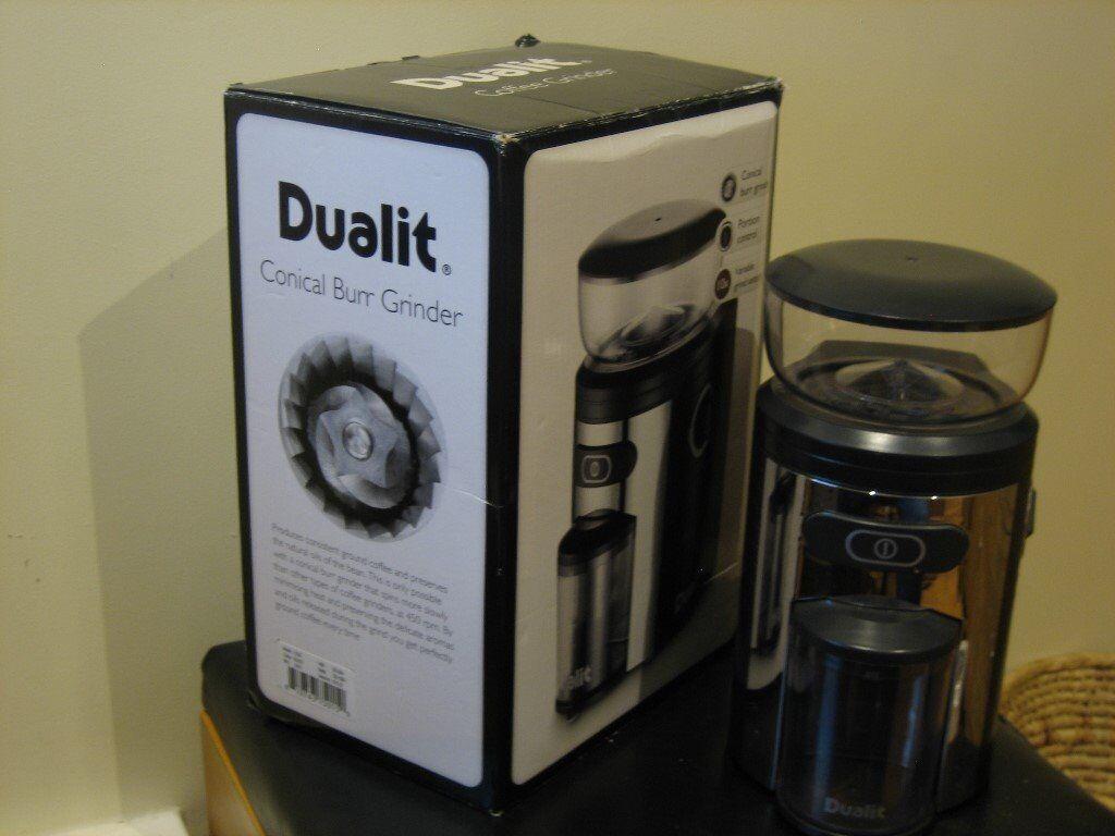 Dualit Coffee Grinder Variable Portion And Grind Settings In Horsham West Sussex Gumtree