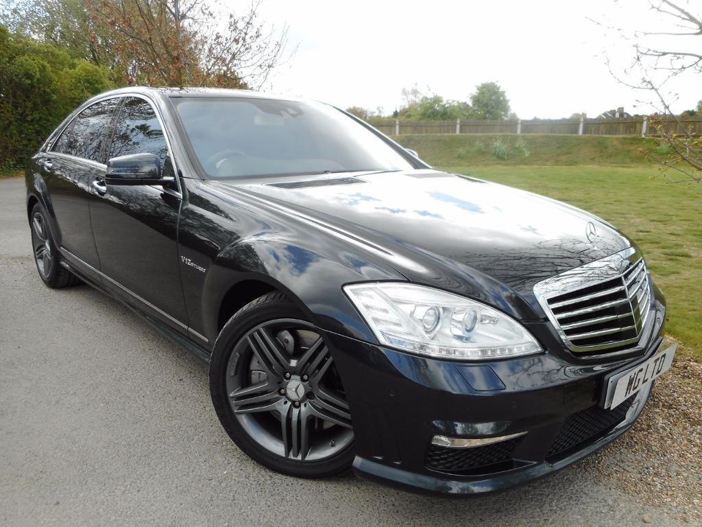 Mercedes-Benz S Class S63L [544] 4dr Auto (£19,000 OF UPGRADES! +) (black) 2012