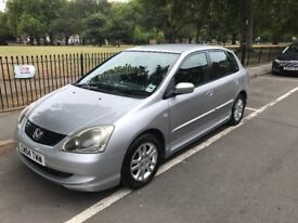 2004 Honda Civic family car, great condition, reliable