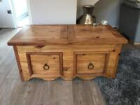 Solid Mexican pine furniture