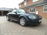 £2,600 ONO AUDI TT ROADSTER 1.8T (150BHP) 67,700 MILES ONLY LEATHER FSH CAMBELT WATERPUMP REPLACED