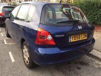 Honda Civic 1.6 (2001) Petrol - Blue