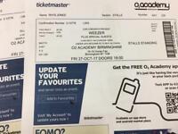 Weezer Birmingham O2 Academy tickets