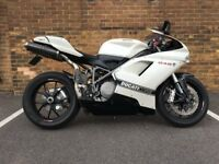 Excellent Codition Ducati 848 Corse in White colour + Loads of extras.. Fully loaded.