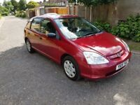 2001 Honda Civic 1.6 i-VTEC S Automatic @07445775115 1+Owner+From+New+Wish+Bond+Ball+Joint+Linkage