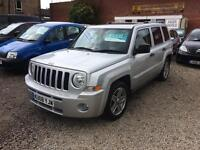 Jeep Patriot limited 2.0 diesel 08 Reg 1 year mot excellent condition leather finance available