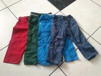 Boys bundle of jeans