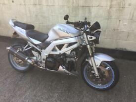 Suzuki Sv1000 naked muscle bike 54reg