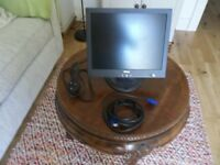"Dell 15"" monitor in good working order"