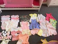 Massive bundle of baby girls clothes 3-6 months