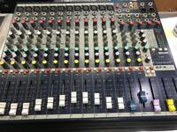 Soundcraft 12 Channel Mixing Console