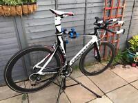 Cannondale Slice TT, Time Trial, triathlon, Tri bike size 56 carbon