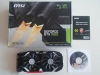 MSI GeForce GTX 1060 6GB GDDR5 Graphics Card