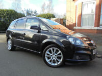 Vauxhall Zafira 1.9 CDTi Design Diesel 7 Seater Estate 150BHP