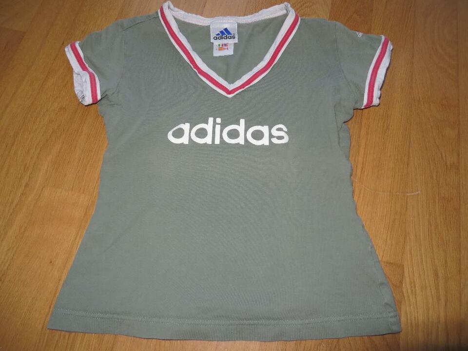 lace up in separation shoes shop adidas T-Shirt Trainingsshirt oliv Gr. 36 / XS