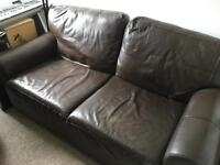 Leather Ikea Couch