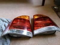 Vauxhall Vectra rear lights