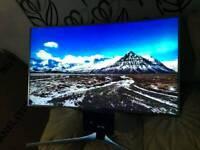 tv 55inch Samsung curve super smart 4k ultra HD