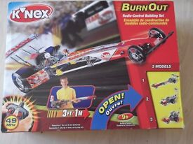 K'NEX Burn Out model kit
