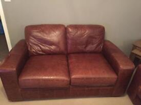 Antique Brown Next Sofa