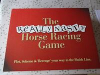 The Really Nasty Horse Racing Game, Board Game.
