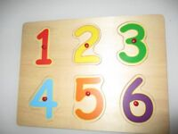 Wooden puzzles for toddlers/ kids (2+)