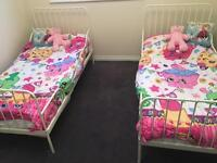 2 Ikea children's extendable beds