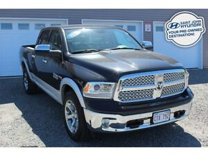 2018 Ram 1500 Laramie! CREW! HEATED/COOLED SEATS! WARRANTY!