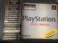 Boxed PS1 & 18 games