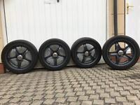 """4 x 18"""" VW/AUDI cup alloy wheels"""