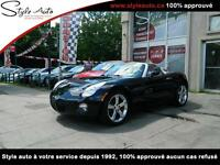 2006 Pontiac Solstice 66000km CERTIFIÉ