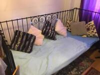 Ikea daybed including a mattress