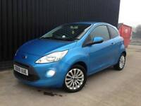 2009 Ford KA 1.3 TDCi Zetec 2Key, Service History, Cheap Road Tax. Great On Fuel Finance Available
