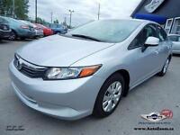 2012 Honda Civic Sdn LX **30,18$/sem**