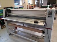 Easymount EM1380SH wide LAMINATOR heated top roller, sign making, photography start-up own business