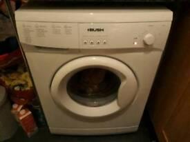 Bush A126Q 6kg capacity washing machine